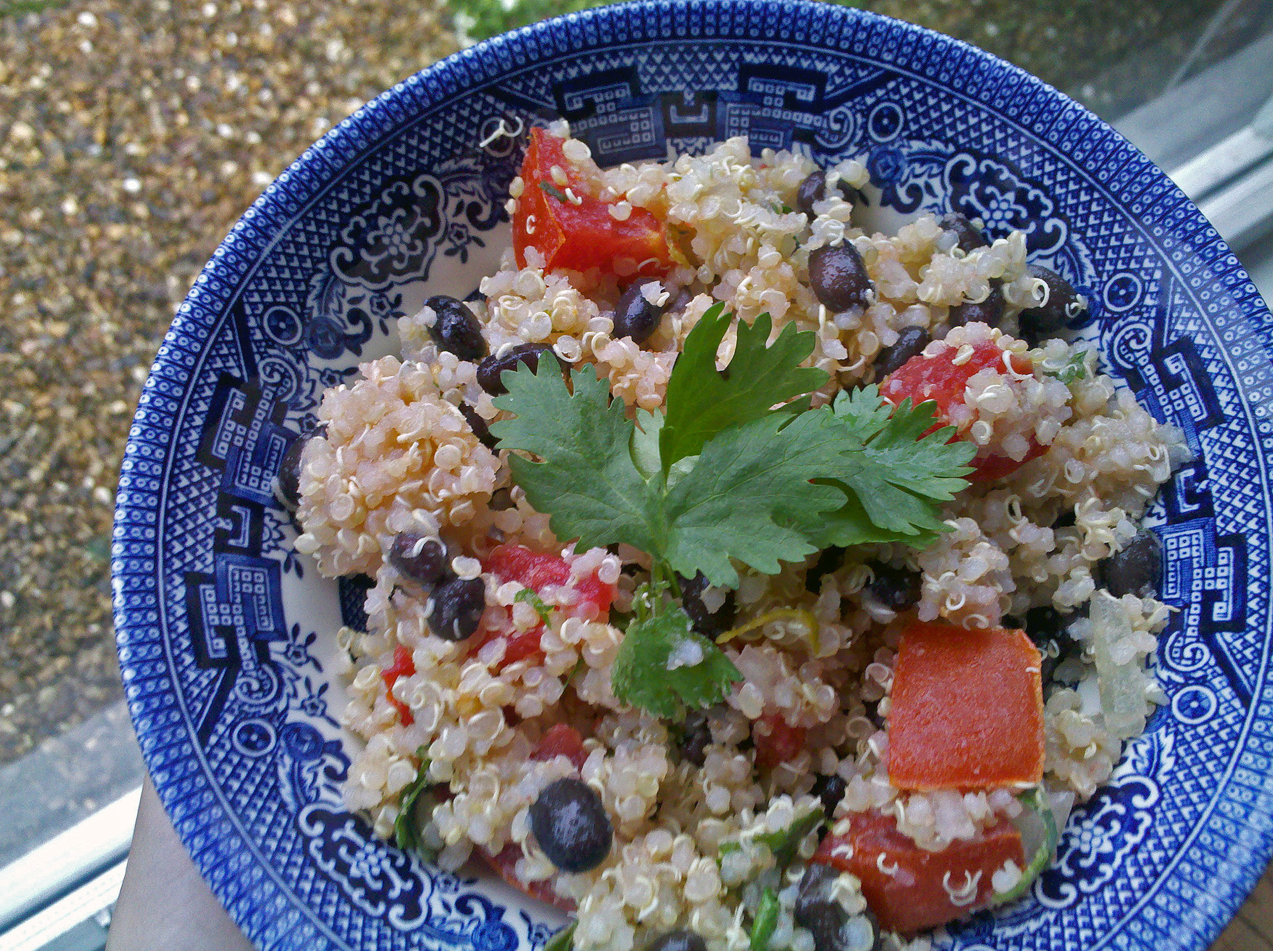 Black Bean and Tomato Quinoa with Cumin Lime Dressing | Die Hard ...